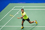 Lin Dan of China compete during the Semi Final of the Yonex Open Chinese Taipei 2015 at the Taipei Arena on 18 July 2015 in Taipei, Taiwan. Photo by Aitor Alcalde / Power Sport Images