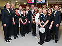 16/11/2010   Copyright  Pic : James Stewart.032_kitchen_opening  .::  SERCO ::  FORTH VALLEY ROYAL HOSPITAL RESTAURANT GRAND OPENING :: CELEBRITY CHEF NICK NAIRN WITH SERCO KITCHEN STAFF AT THE OFFICIAL OPENING OF THE NEW FORTH VALLEY ROYAL HOSPITAL KITCHEN  ::