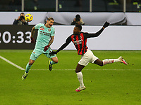 Milano  09-01-2021<br /> Stadio Giuseppe Meazza<br /> Campionato Serie A Tim 2020/21<br /> Milan - Torino<br /> nella foto:  Lukic Rafael Leo                                                        <br /> Antonio Saia Kines Milano