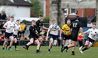 Monday 18th March 2019 | 2019 Schools Cup Final<br /> <br /> Ollie Ralston during the 2019 Ulster Schools Cup Final between MCB and CCB at Ravenhill Park, Belfast, Northern Ireland. Photo by John Dickson / DICKSONDIGITAL