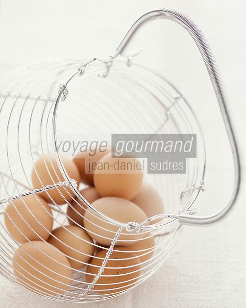 Gastronomie générale / Cuisine générale : Panier à oeufs
