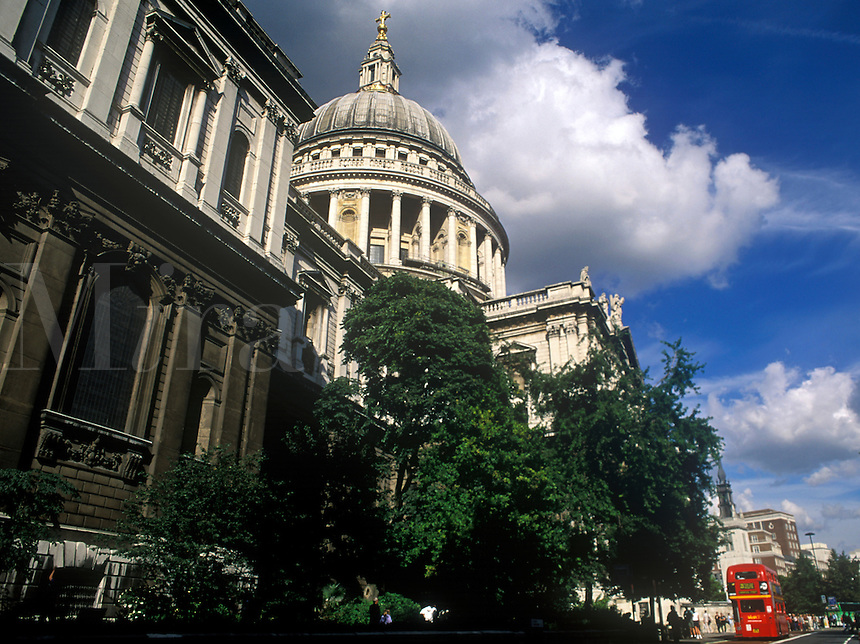 St Paul's Cathedral, Church of England, in central London, England, UK