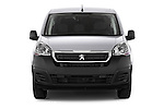 Car photography straight front view of a 2015 Peugeot Partner - 4 Door Car Van Front View