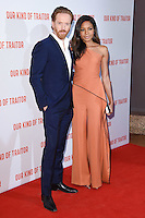 """Damian Lewis and Naomie Harris<br /> poses at the Washington Hotel before the premiere of """"Our Kind of Traitor"""" held at the Curzon Mayfair, London<br /> <br /> <br /> ©Ash Knotek  D3113 05/05/2016"""