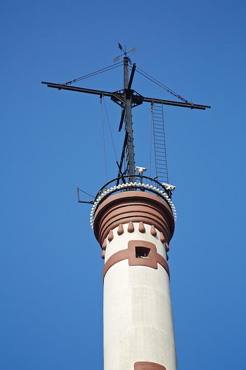 Gutzlaff Signal Tower On The French Bund.