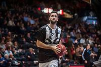 VALENCIA, SPAIN - JANUARY 6: Nikola Markovic during EUROCUP match between Valencia Basket and PAOK Thessaloniki at Fonteta Stadium on January 6, 2015 in Valencia, Spain