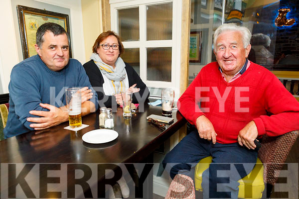 Nicholas and Elaine Mullins and Gene Scully enjoying the evening in the Brogue Inn on Saturday.