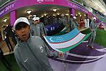 Uzbetkistan vs South Korea during their AFC Asian Cup 2011 Quarter Finals match at Khalifa International Stadium on 21 January 2011, in Doha, Qatar. Photo by Stringer / World Sport Group
