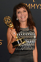 LOS ANGELES - SEP 18:  Susanne Bier at the 2016 Primetime Emmy Awards - Press Room at the Microsoft Theater on September 18, 2016 in Los Angeles, CA