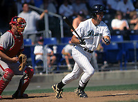 1B Todd Helton of the New Haven Ravens at Yale Field  in New Haven, CT in 1996 (Photo by Ken Babbitt/Four Seam Images)