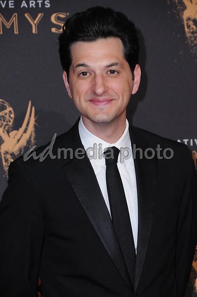 10 September  2017 - Los Angeles, California - Ben Schwartz. 2017 Creative Arts Emmys - Arrivals held at Microsoft Theatre L.A. Live in Los Angeles. Photo Credit: Birdie Thompson/AdMedia