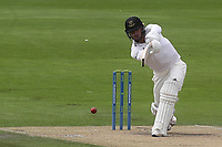 Stuart Meaker in batting action for Susses CCC during Sussex CCC vs Glamorgan CCC, LV Insurance County Championship Group 3 Cricket at The 1st Central County Ground on 5th July 2021