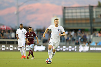 SAN JOSE, CA - JULY 27: Tommy Thompson during a Major League Soccer (MLS) match between the San Jose Earthquakes and the Colorado Rapids on July 27, 2019 at Avaya Stadium in San Jose, California.