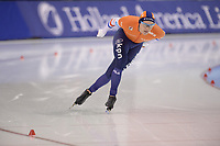 SPEEDSKATING: SALT LAKE CITY: Utah Olympic Oval, 09-03-2019, ISU World Cup Finals, 5000m Men, Marcel Bosker (NED), ©Martin de Jong