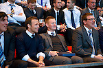 St Johnstone Player of the Year Awards.....06.05.12.Jody Morris, Steve Lomas and Tommy Wright look on.Picture by Graeme Hart..Copyright Perthshire Picture Agency.Tel: 01738 623350  Mobile: 07990 594431