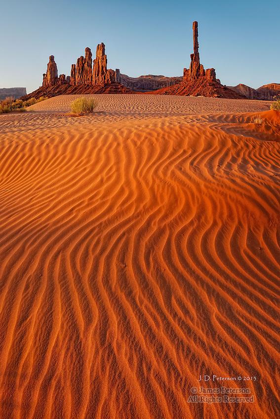 The Totem Pole, Monument Valley, Arizona