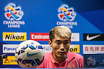 Team Formers of Guangzhou Evergrande attends the Pre Match Press Conference prior to the Guangzhou Evergrande vs Kashiwa Reysol match as part the AFC Champions League 2015 Quarter Final 2nd Leg match on September 14, 2015 at  Tianhe Sport Center in Guangzhou, China. Photo by Aitor Alcalde / Power Sport Images