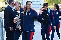 Jacksonville, FL - Thursday April 5, 2018: Alex Morgan during an International friendly match versus the women's National teams of the United States (USA) and Mexico (MEX) at EverBank Field.