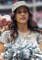 Houston Texans cheerleader during NFL Football game at Reliant Stadium in Houston, Texas. Houston Texans defeat Buffalo Bills 21-9.