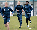 St Johnstone Training…06.04.18   McDiarmid Park, Perth<br />Steven Anderson pictured with Matty Willock during training this morning ahead of tomorrow's game against Motherwell<br />Picture by Graeme Hart.<br />Copyright Perthshire Picture Agency<br />Tel: 01738 623350  Mobile: 07990 594431