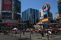 ToToronto (ON) CANADA - July 2012 -Dundas square beside  EATON CENTRE