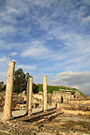 Beth Shean, the Byzantine Western Bathhouse of the city Scythopolis