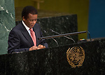 General Assembly Seventy-second session, 28th plenary meeting<br /> Report of the Secretary-General on the work of the Organization (A/72/1)<br /> <br /> <br /> <br /> South Africa