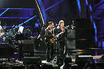 ROCK & ROLL HALL OF FAME CONCERT AT MADISON SQUARE GARDEN, U2, Mick Jagger