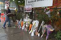 FILE - Aftermath of the Dawson school gunshooting  September 2OO7.<br /> <br /> <br /> Photo : Robert Gallbraith<br />  - Agence Quebec Presse