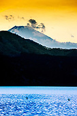 Mont Fuji depuis le lac Ashi