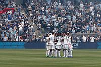 Kansas City, Kansas - June 3, 2017: Sporting Kansas City defeated Minnesota United FC 3-0 in a Major League Soccer (MLS) game at Children's Mercy Park.