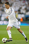 Real Madrid's Cristiano Ronaldo during Champions League 2014/2015 Quarter-finals 1st leg match.April 14,2015. (ALTERPHOTOS/Acero)