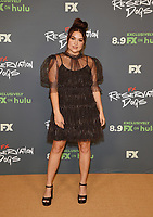"""BEVERLY HILLS, CA - AUGUST 4: Cast member Devery Jacobs attends the FX Networks 2021 Summer Television Critics Association session for """"Reservation Dogs"""" at the Beverly Hilton on August 4, 2021 in Beverly Hills, California. (Photo by Frank Micelotta/FX/PictureGroup)"""
