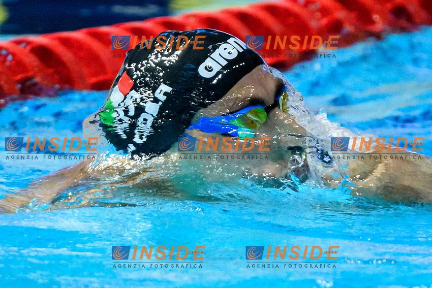 DI COLA Stefano ITA Italy<br /> 200m Freestyle Men Preliminary<br /> Swimming<br /> Budapest  - Hungary  19/5/2021<br /> Duna Arena<br /> XXXV LEN European Aquatic Championships<br /> Photo Giorgio Perottino / Deepbluemedia / Insidefoto