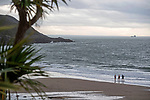 Langland Bay, Swansea, UK, 9th November 2020<br />