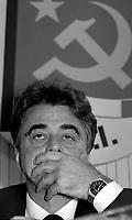 Achille Occhetto (Torino1936) politico italiano.Ultimo segretario del Partito Comunista Italiano..Foto Livio Senigalliesi.