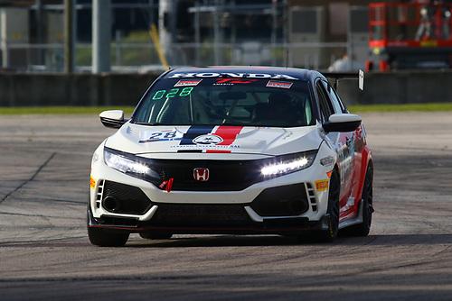 Skip Barber Racing School Honda Civic Type R:Mike Ogren