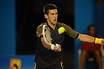 Novak Djokovic (SRB) Wins Australian Open in four set victory on January 27, 2013 in Melbourne