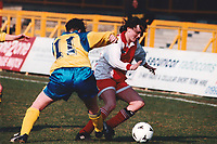 Match action during Doncaster Belles vs Wembley Ladies, FA Women's Premier League Cup Final Football at Underhill, Barnet FC on 10th March 1996