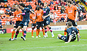 :: HEARTS' GARY GLEN SCORES HEARTS' FIRST :: .15/05/2011   Copyright  Pic : James Stewart.sct_jsp002_dundee_utd_v_hearts .James Stewart Photography 19 Carronlea Drive, Falkirk. FK2 8DN      Vat Reg No. 607 6932 25.Telephone      : +44 (0)1324 570291 .Mobile              : +44 (0)7721 416997.E-mail  :  jim@jspa.co.uk.If you require further information then contact Jim Stewart on any of the numbers above.........