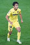 Villarreal CF's Take Kubo during La Liga match. November 2, 2020. (ALTERPHOTOS/Acero)