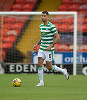 22nd August 2020; Tannadice Park, Dundee, Scotland; Scottish Premiership Football, Dundee United versus Celtic; Nir Bitton of Celtic comes forward on the ball