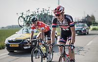 John Degenkolb (DEU/Team Giant-Alpecin) & Peter Sagan (SVK/Tinkoff) mid-race<br /> <br /> 12th Eneco Tour 2016 (UCI World Tour)<br /> stage 3: Blankenberge-Ardooie (182km)