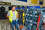 Mike Kelliher browsing in Chadwicks in Tralee on Monday morning.