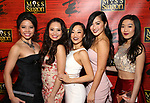 """Ensemble cast members attends The Opening Night After Party for the New Broadway Production of """"Miss Saigon"""" at Tavern on the Green on March 23, 2017 in New York City"""