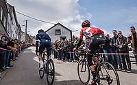 race leaders up Côte de Saint-Roch in  Houffalize<br /> <br /> 103rd Liège-Bastogne-Liège 2017 (1.UWT)<br /> One Day Race: Liège › Ans (258km)