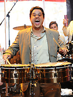 SMG_Tito Puente Jr_Margaret Puente_Sounding Off_041411_01.JPG<br /> <br /> MIAMI BEACH, FL - APRIL 14:  Tito Puente Jr_Margaret Puente of the Beach Boys at the 1st annual Florida 'Sounding Off For A Cure' benefit concert presented by the Voices Against Brain Cancer Foundation Fillmore Miami Beach on April 14, 2011 in Miami Beach, Florida  (Photo By Storms Media Group)<br />  <br /> People:   Tito Puente Jr_Margaret Puente<br /> <br /> Must call if interested<br /> Michael Storms<br /> Storms Media Group Inc.<br /> 305-632-3400 - Cell<br /> 305-513-5783 - Fax<br /> MikeStorm@aol.com