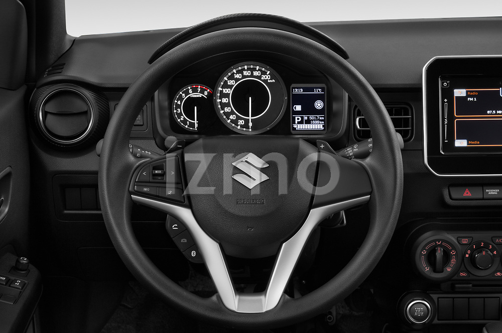 Car pictures of steering wheel view of a 2020 Suzuki Ignis GL+ 5 Door Hatchback Steering Wheel