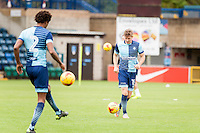 during the Open Training Session in front of supporters during the Wycombe Wanderers 2016/17 Team & Individual Squad Photos at Adams Park, High Wycombe, England on 1 August 2016. Photo by Jeremy Nako.