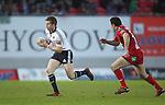 Ivan Dineen.RaboDirect Pro 12.Scarlets v Munster..Parc Y Scarlets.21.04.12.©Steve Pope